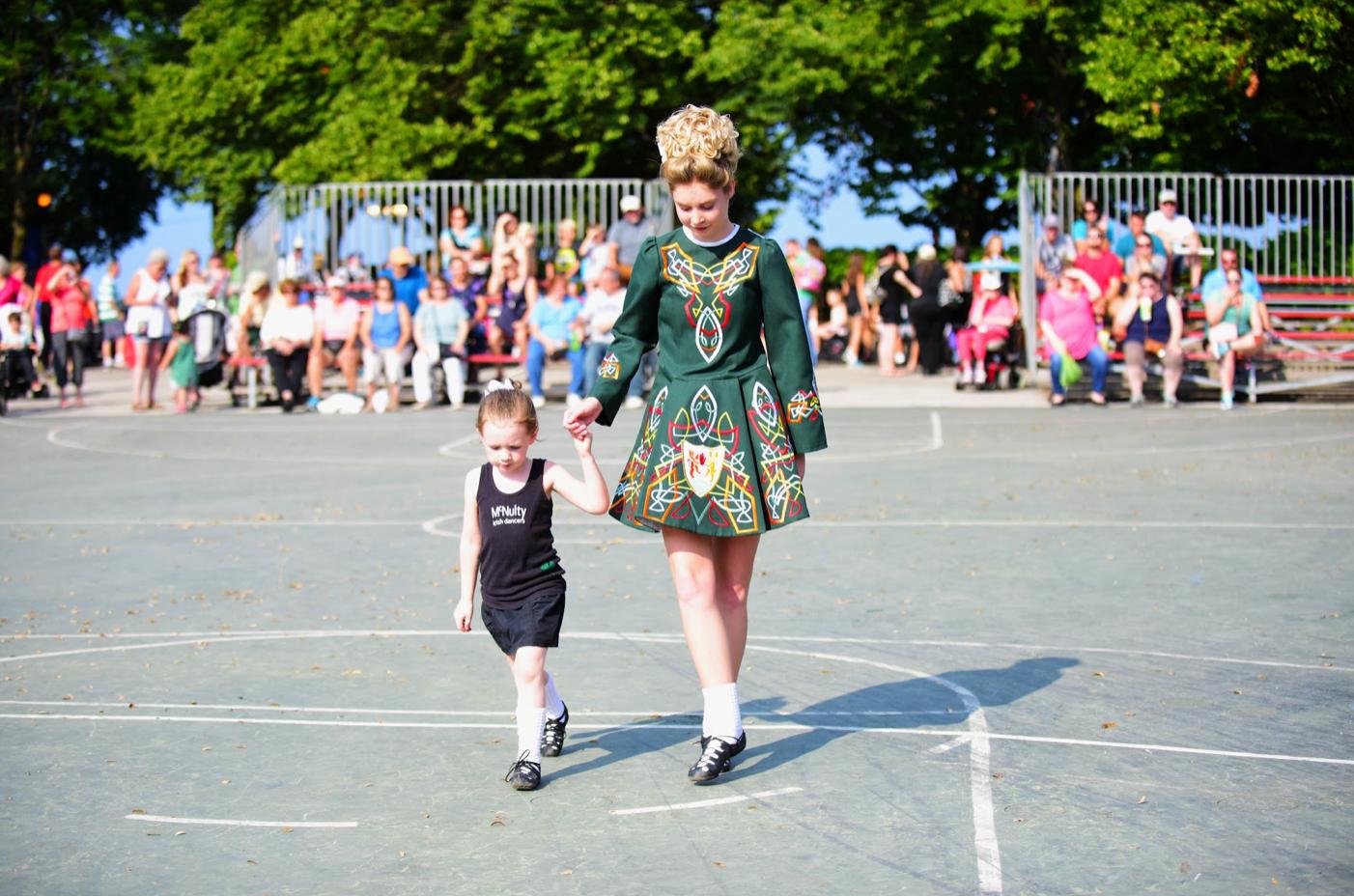 Irish Fest dancers