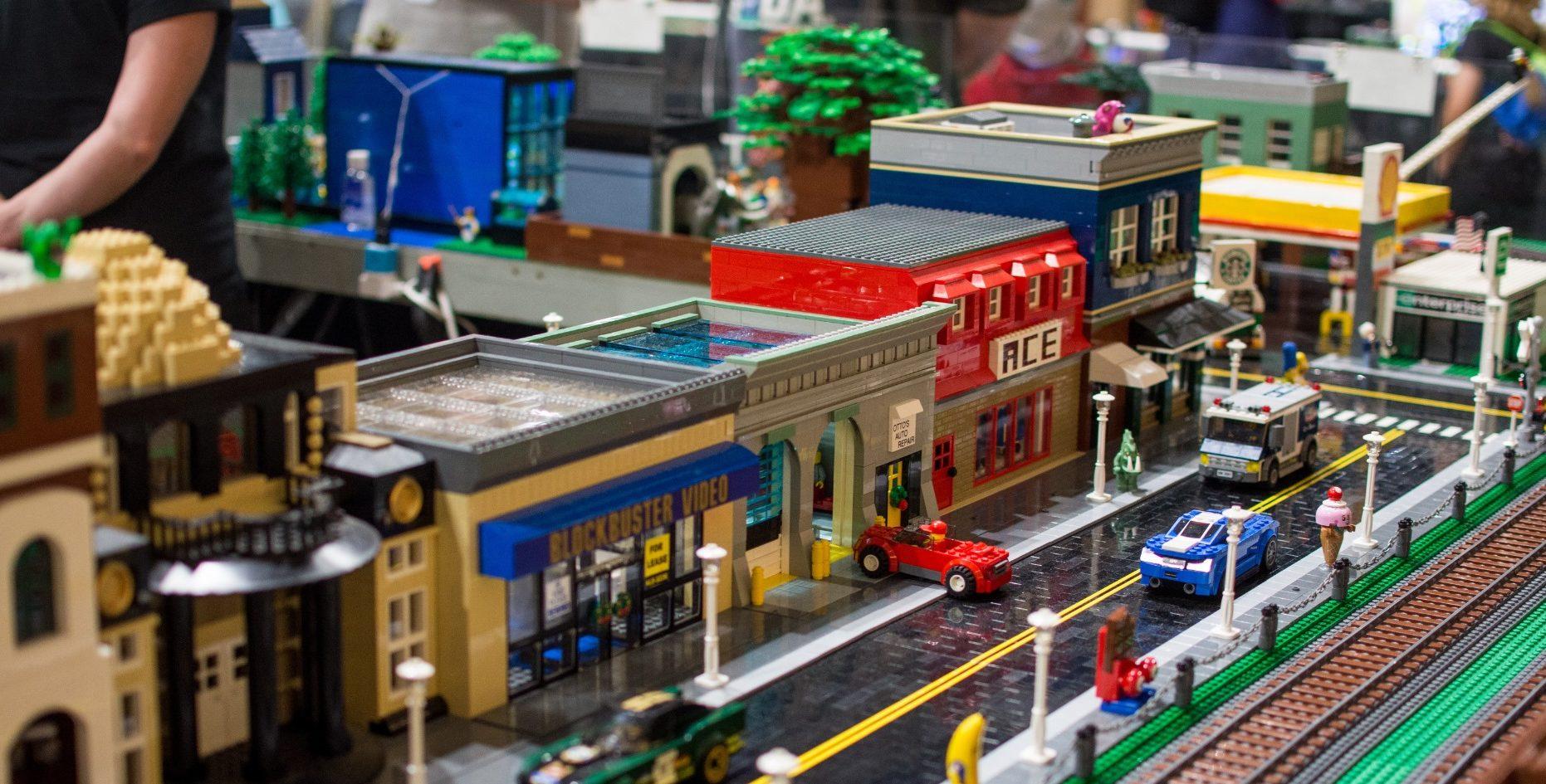Brickworld LEGO display